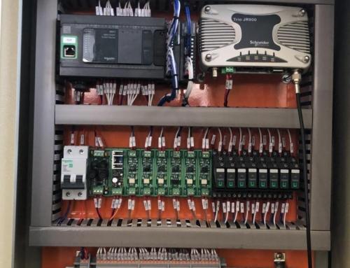 Controle de equipamento à distância via rádio (6 km)